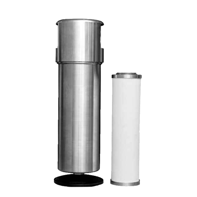"GBHL145 RC1-1/2"" 7.2m³/min Flow Rate Stainless Steel 3.0Mpa SUS316 High Pressure Air Purifier Filter"