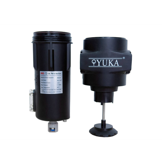 "99.73% Discharge WS100 RC1-1/2"" 10.0m³/min Flow Rate Anti-Corrosion Air Compressor Water Separator"